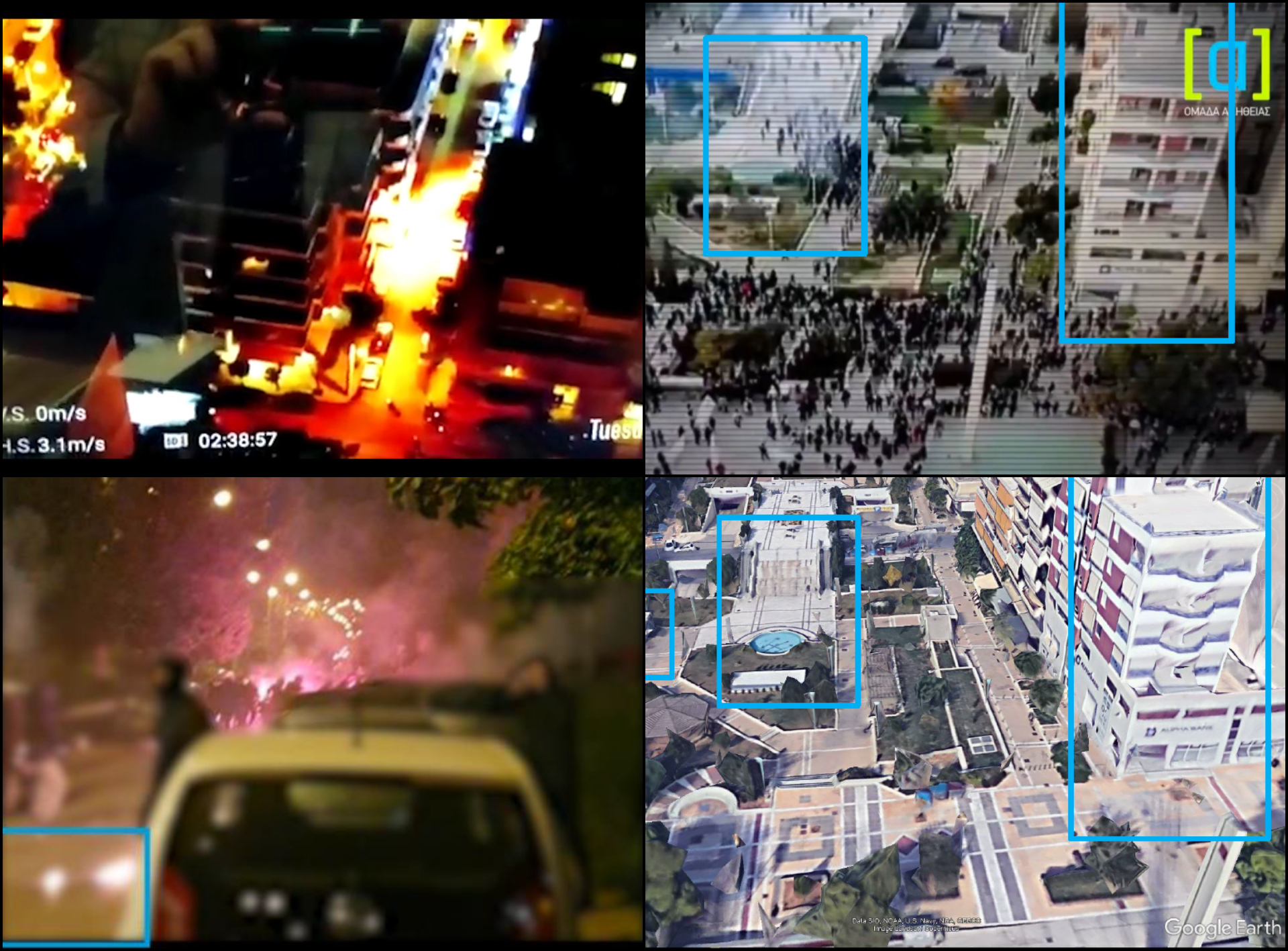 Police abuse in Greece: Disinfaux Collective report examines rogue petrol bomb video and reveals possible police ties to shady pro-government group