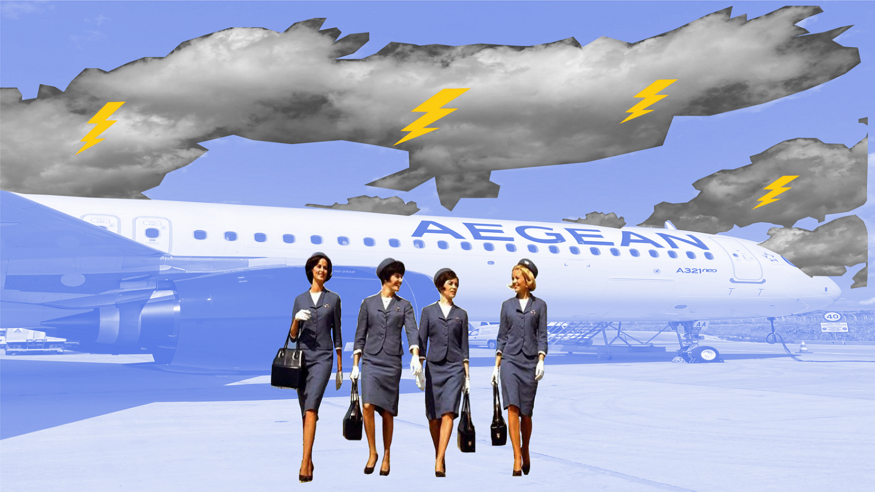 """Falling from the clouds – life inside Aegean Airlines, Greece's """"top employer"""""""