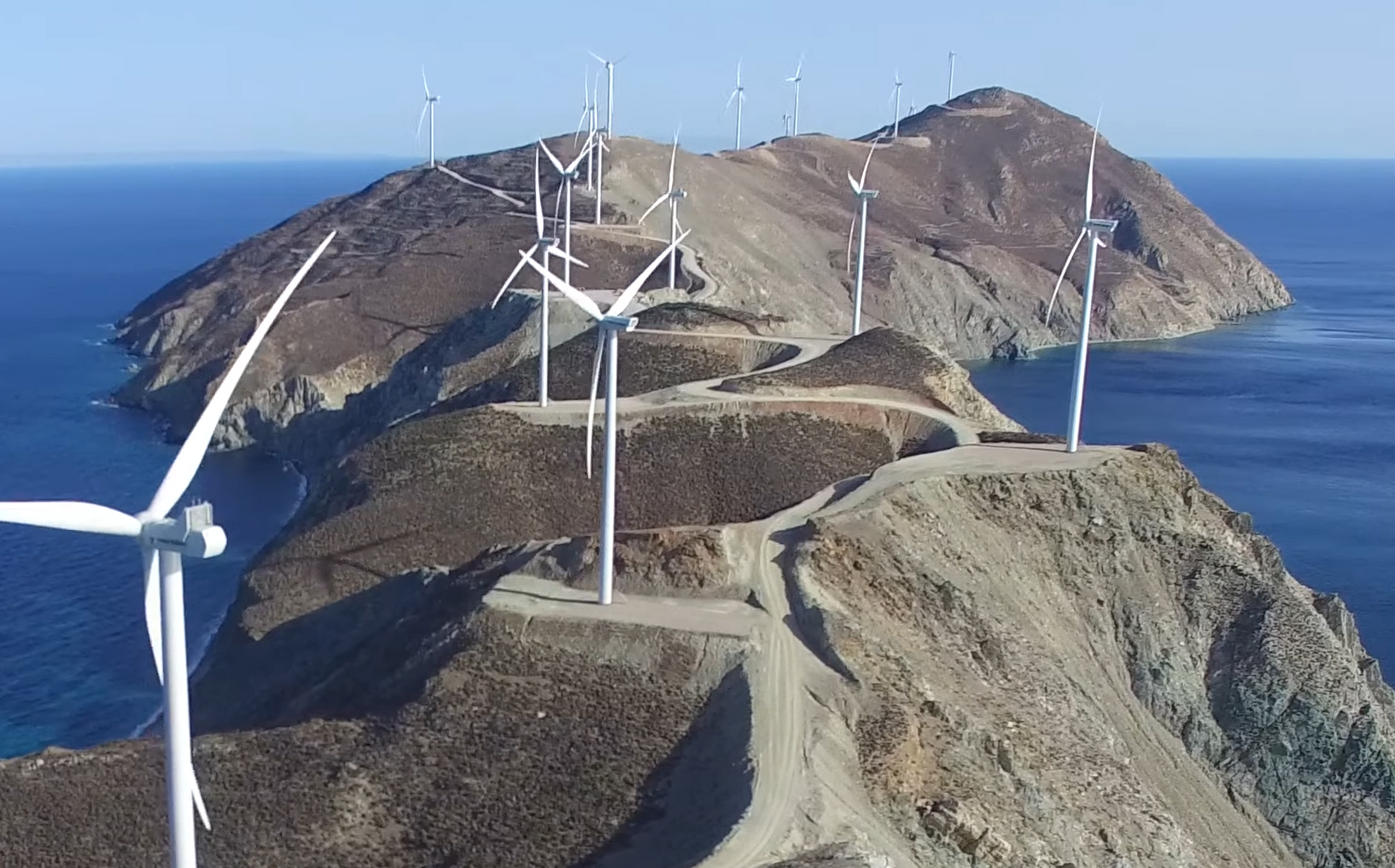 Too much of a good thing? Wind power and the battle for Greece's wild heart